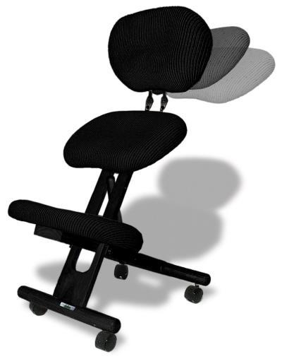 Sedia ergonomica con schienale Cinius